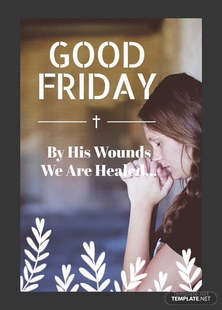 Free Good Friday Tumblr Post Template