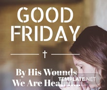Good Friday Tumblr Post Template