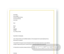 Short friendly letter sample in microsoft word apple pages google free short resignation letter template spiritdancerdesigns Choice Image