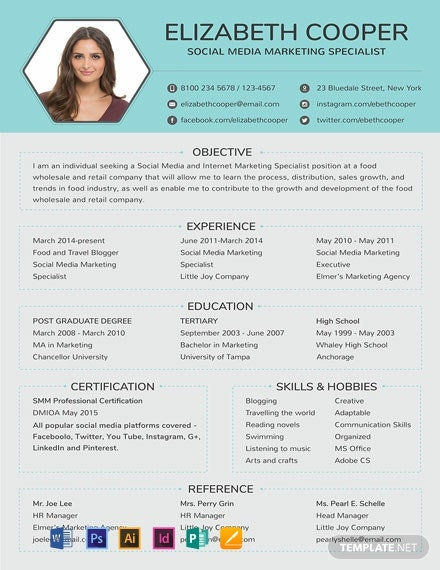 19  free simple resume templates