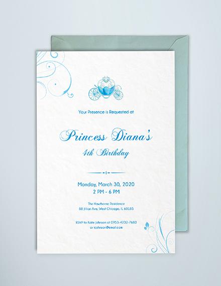 free cinderella invitation template download 344 invitations in