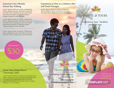 Travel and Tour Brochure