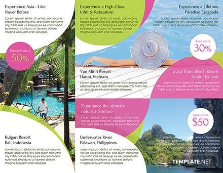 Travel and Tour Brochure Sample