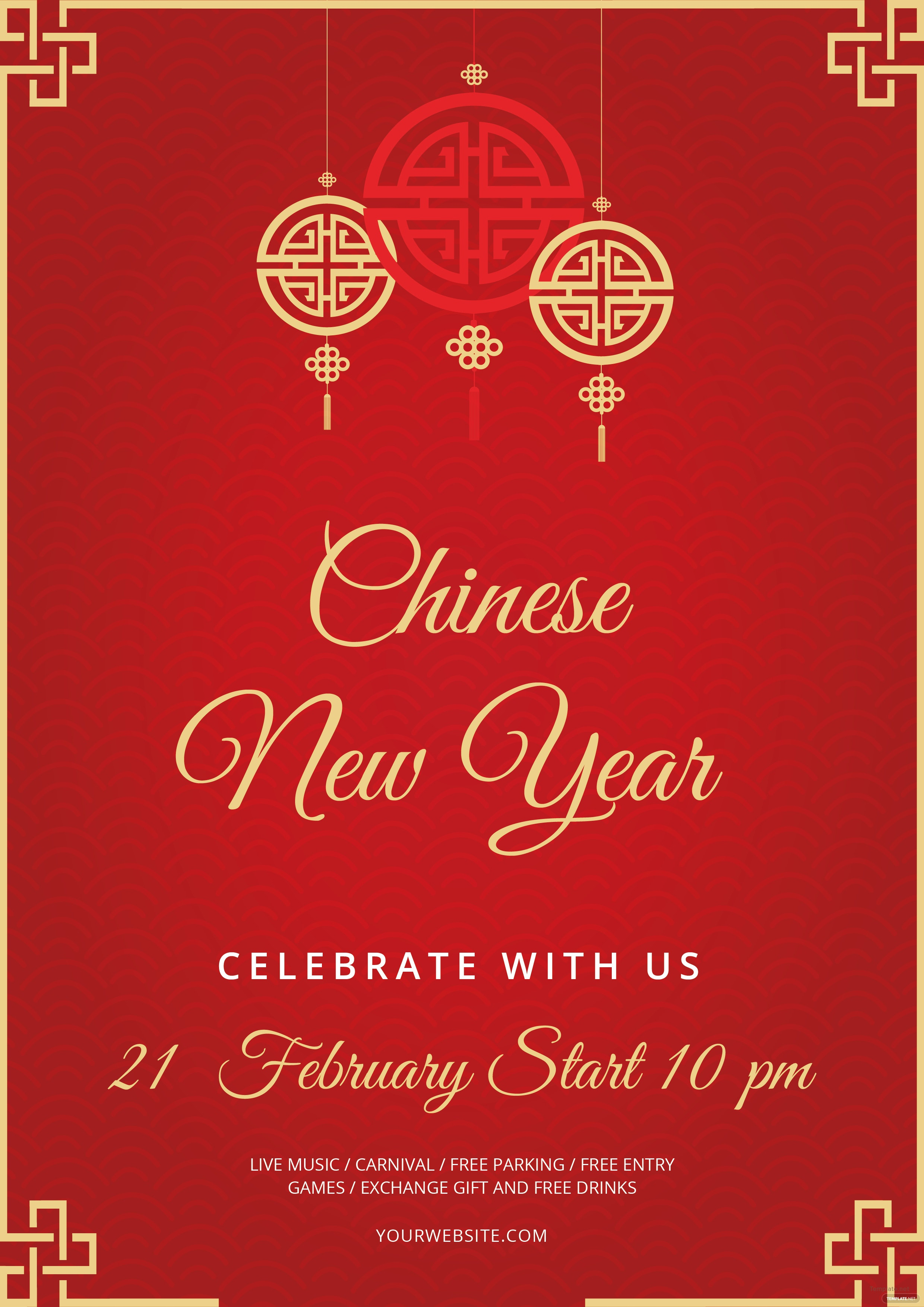 Free chinese new year flyer template in adobe photoshop illustrator chinese new year flyer template free download saigontimesfo
