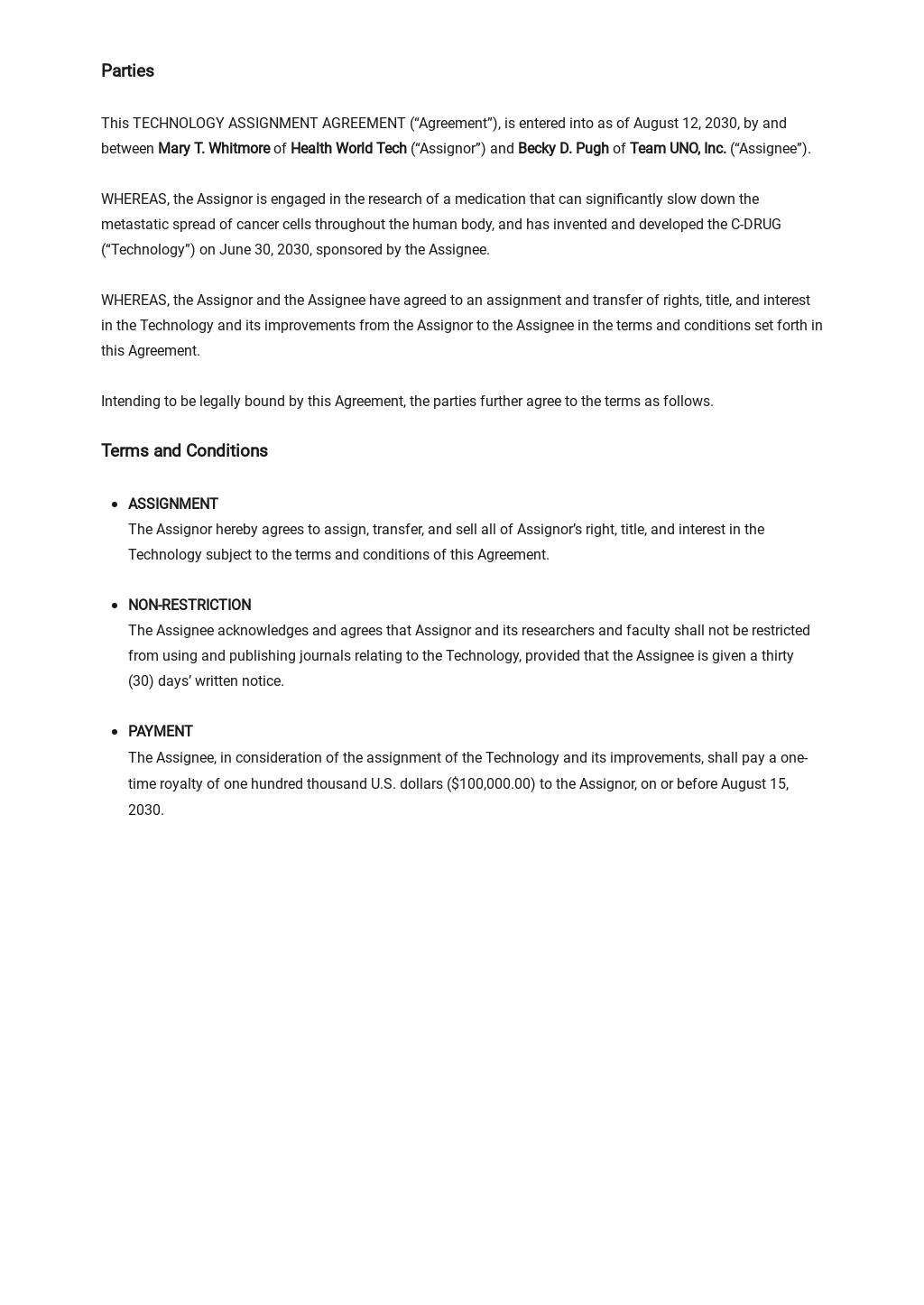 Technology Assignment Agreement Template 1.jpe