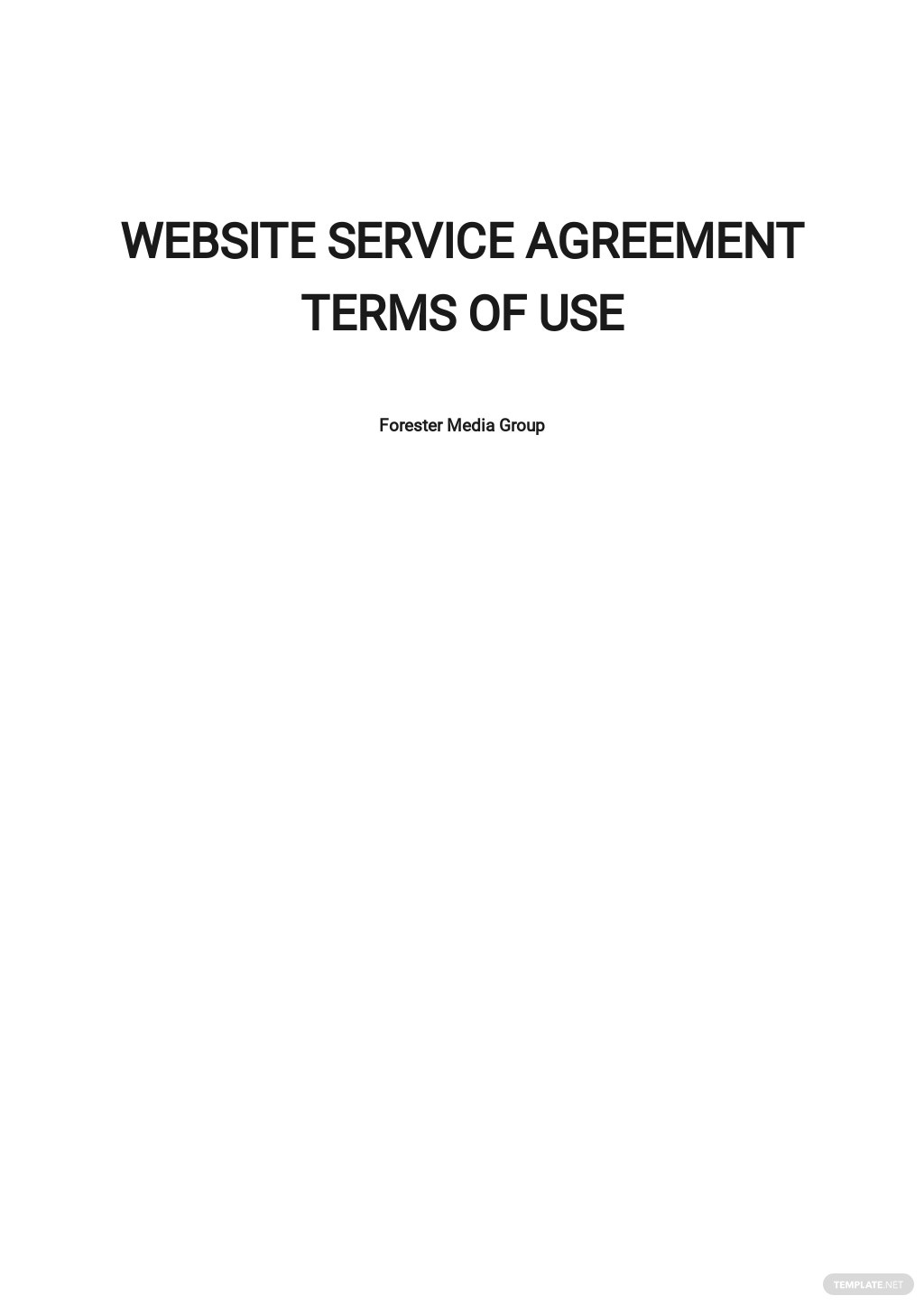 Website Service Agreement Terms of Use Template.jpe