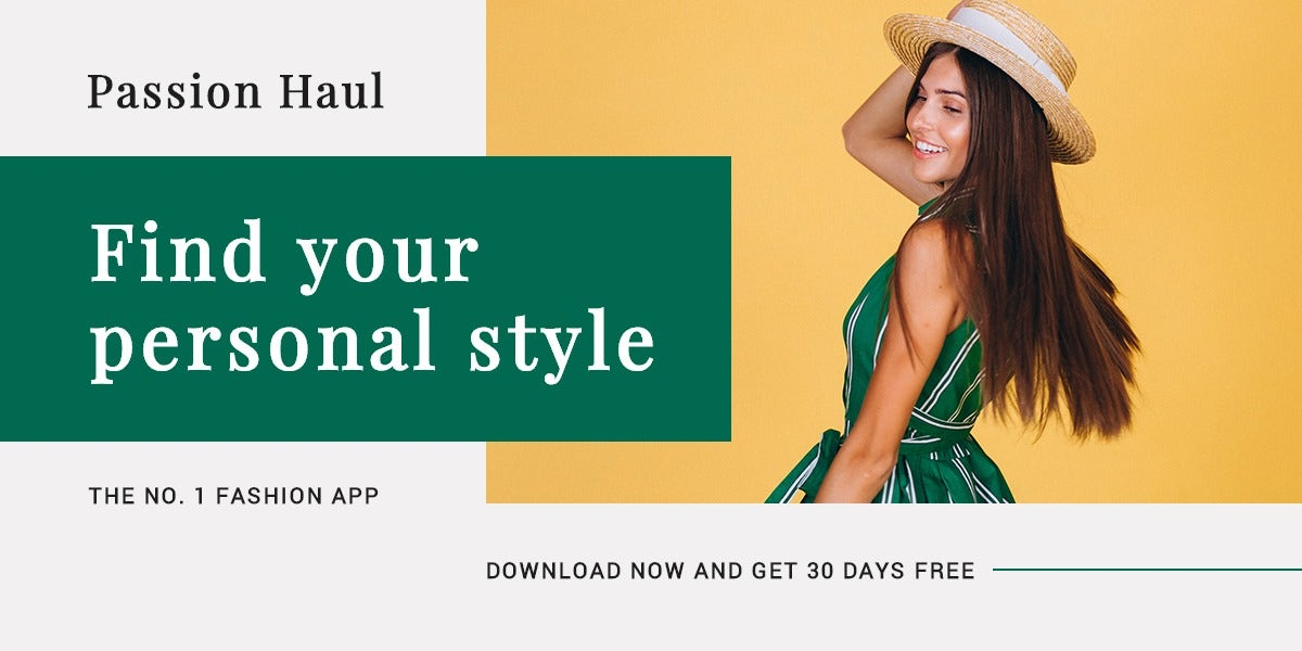 Fashion App Promotion Blog Post Template