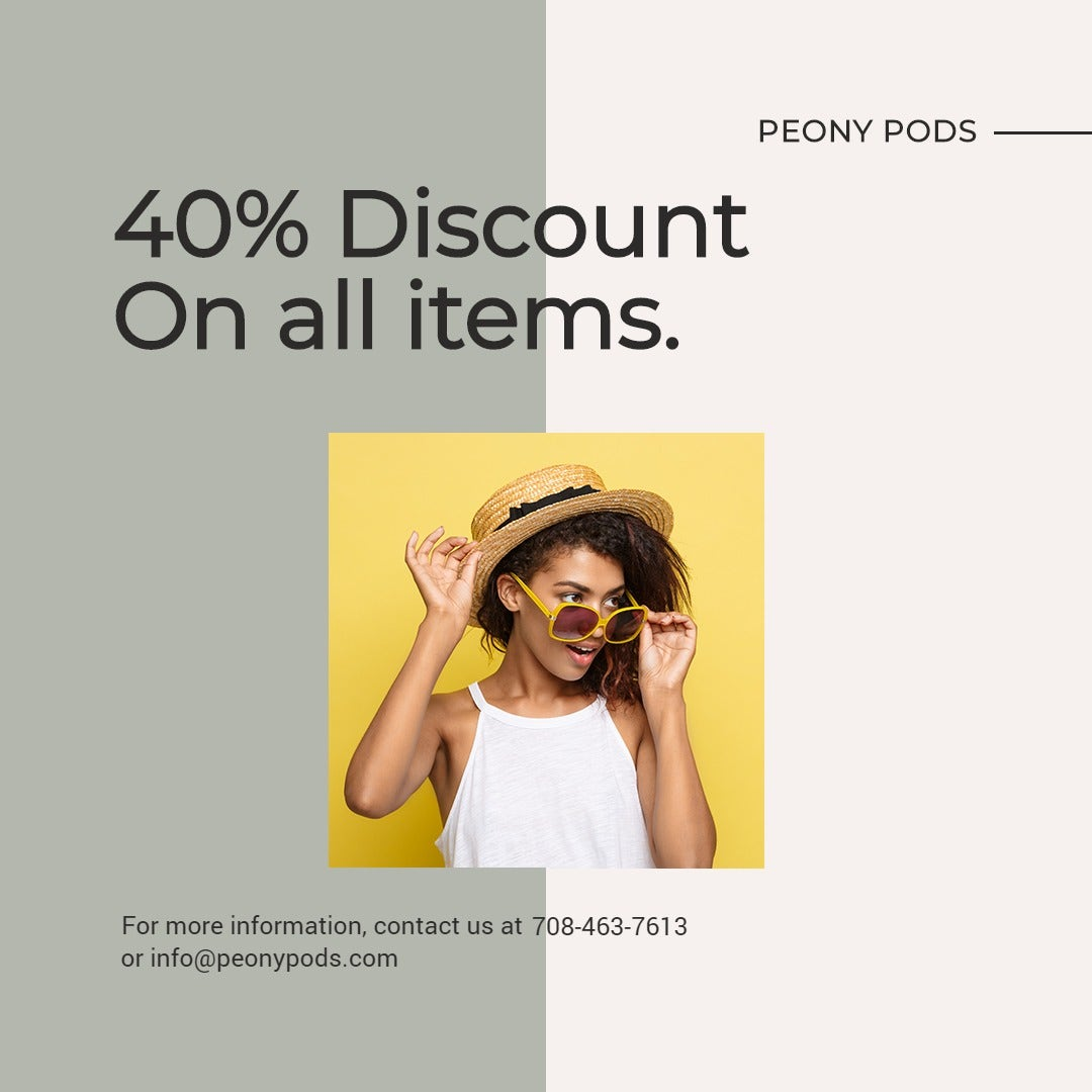 Trendy Fashion Sale Instagram Post Template