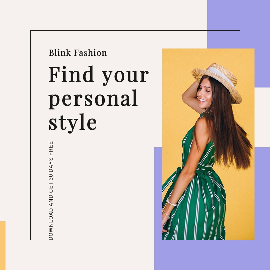 Fashion Brands App Promotion Instagram Post Template