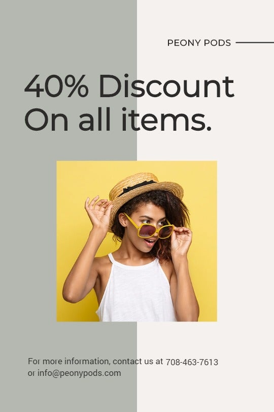 Trendy Fashion Sale Tumblr Post Template