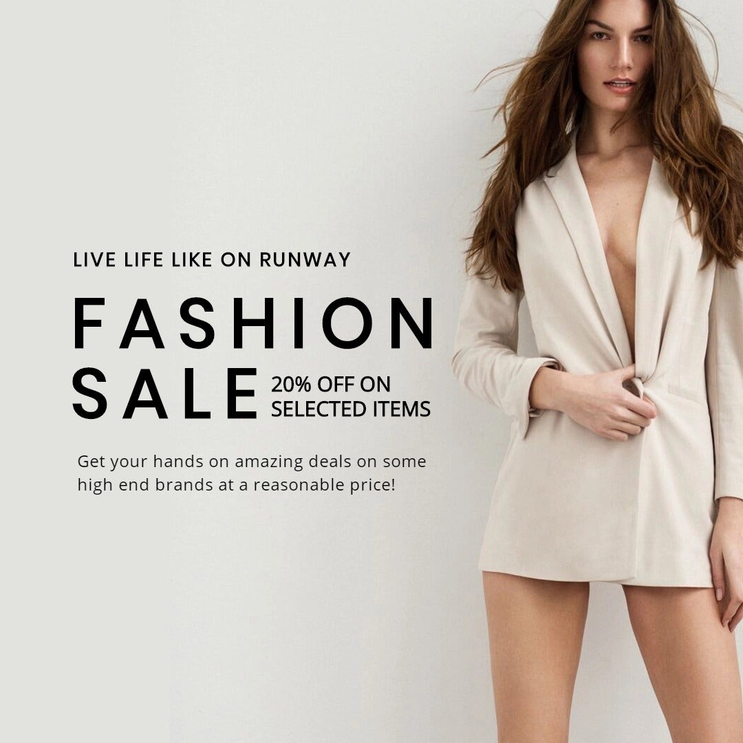 Grand Fashion Sale Instagram Post Template