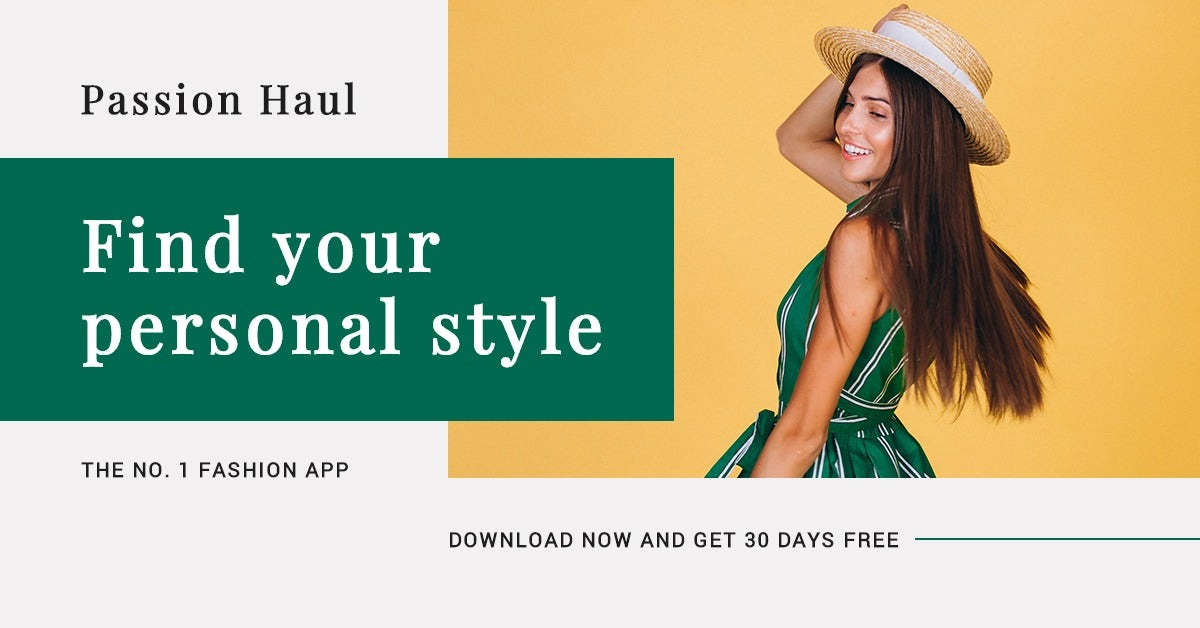 Fashion App Promotion LinkedIn Post Template