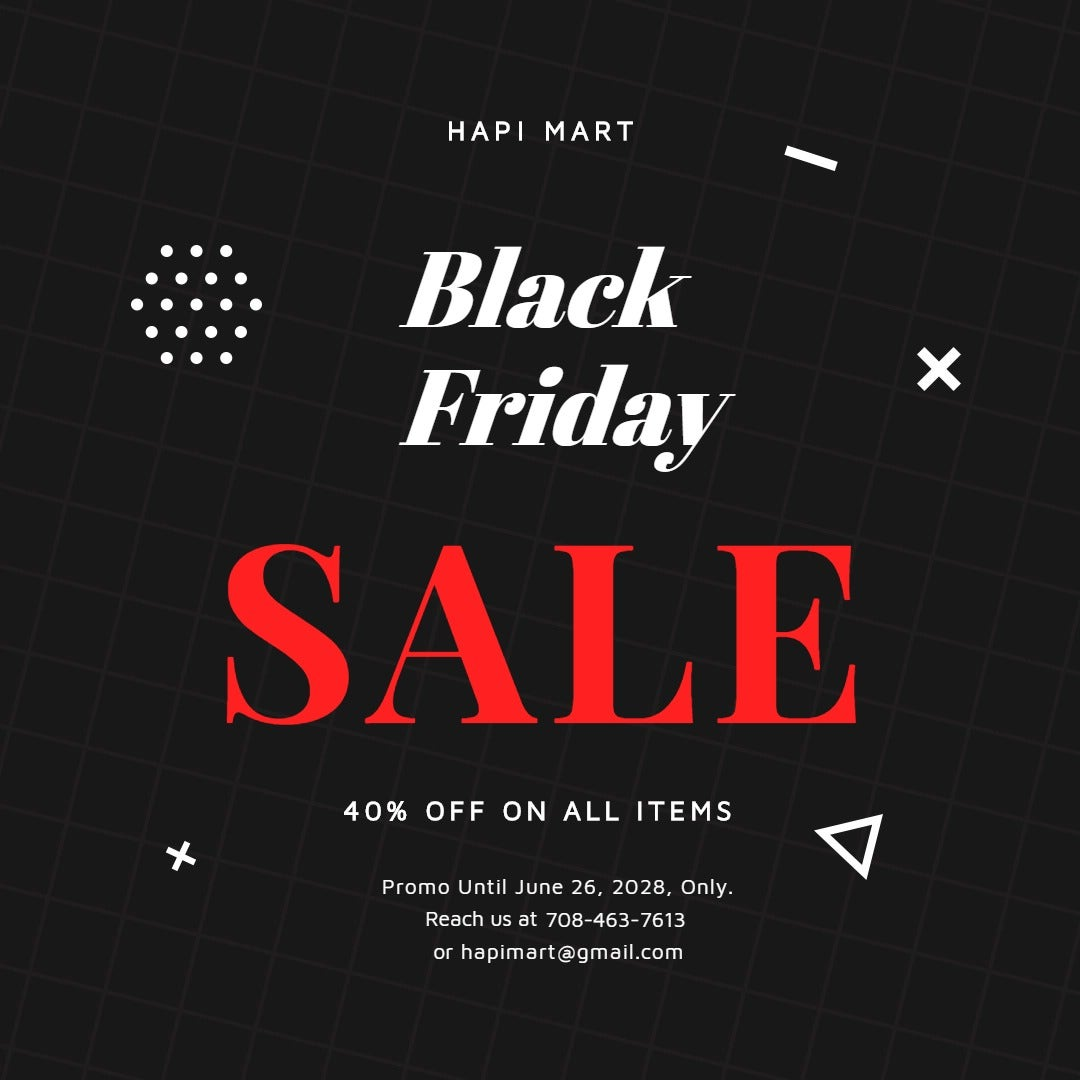 Black Friday Sale Instagram Post Template