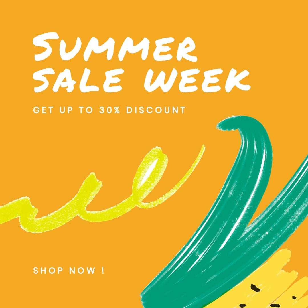 Summer Sale Instagram Post Template