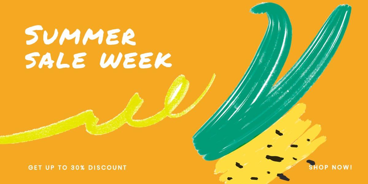 Summer Sale Blog Post Template