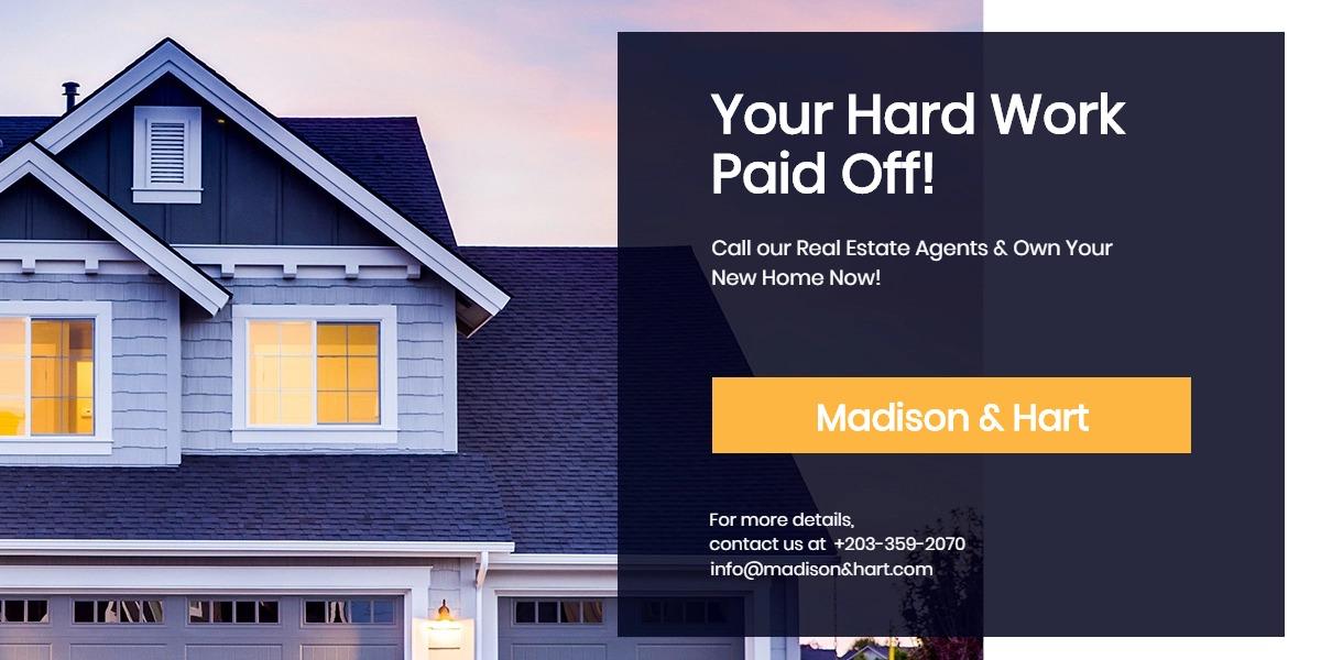 Real Estate Startup Blog Post Template