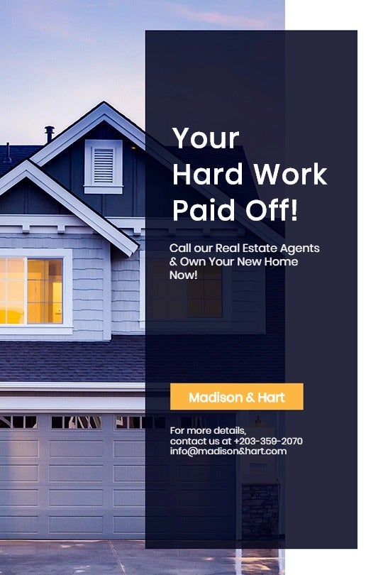 Real Estate Startup Tumblr Post Template