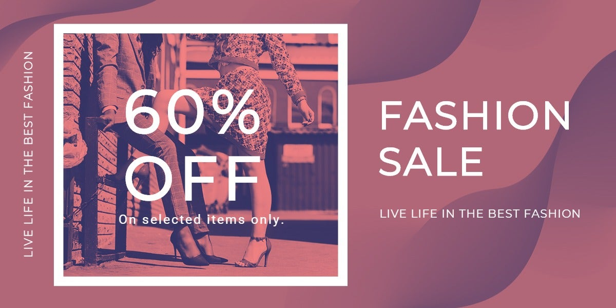 Fashion Sale Offers Blog Post Template