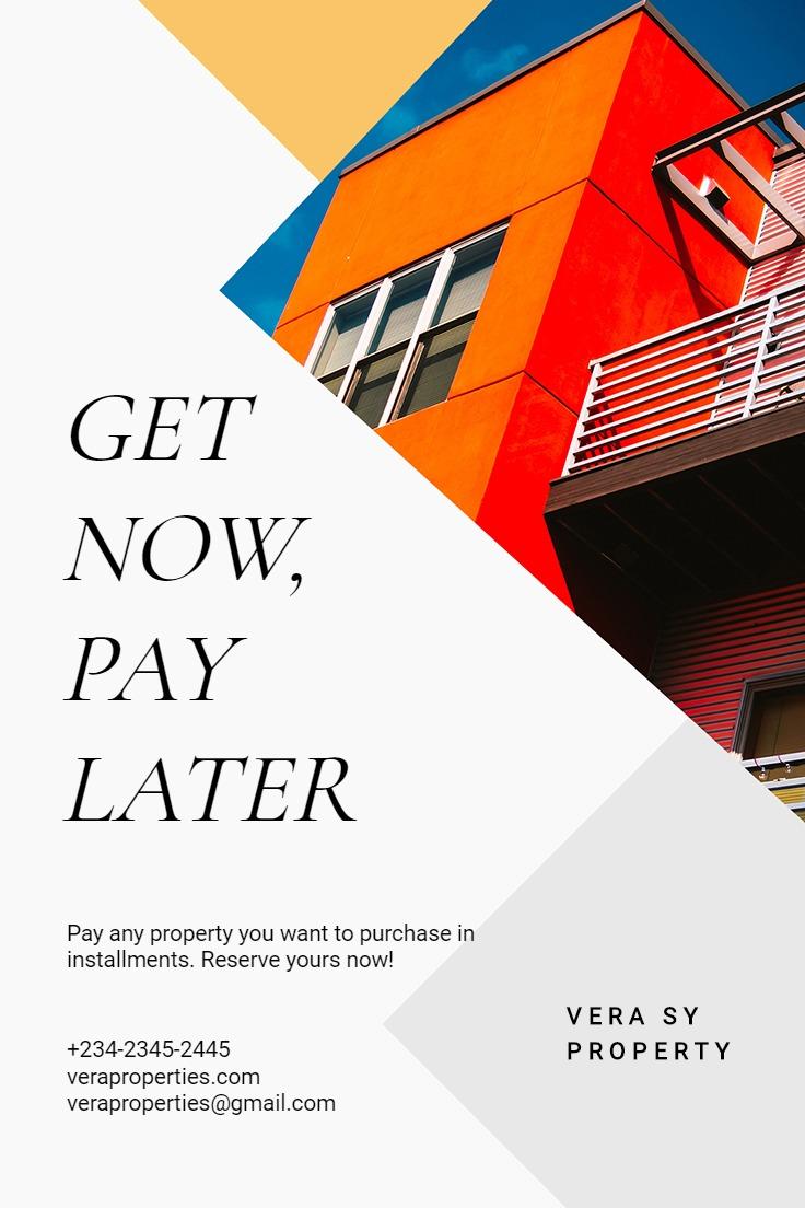 Indepedent Real Estate Broker Pinterest Pin Template
