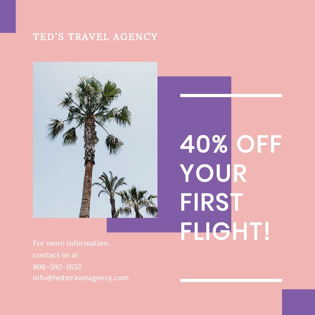 Travel Business Instagram Post Template