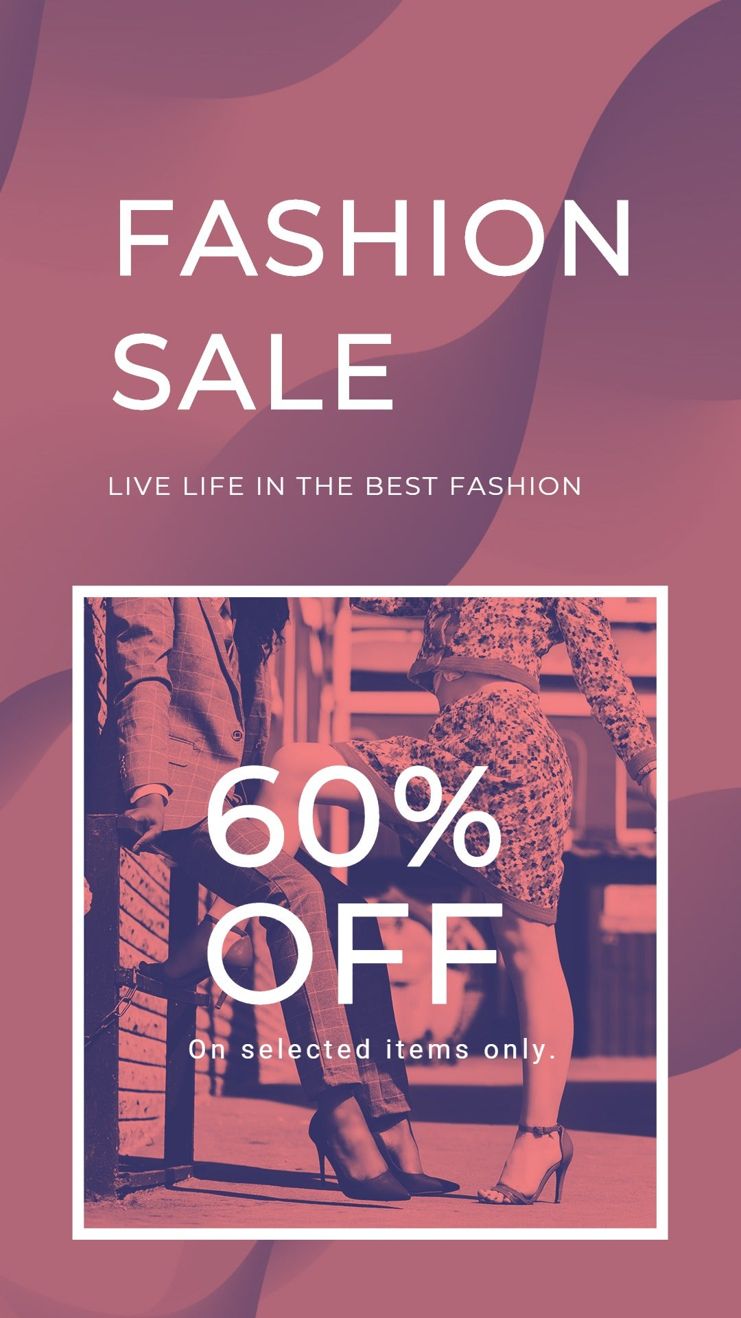Fashion Sale Offers Whatsapp Image Template
