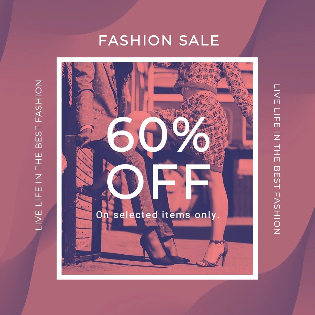 Fashion Sale Offers Instagram Post Template