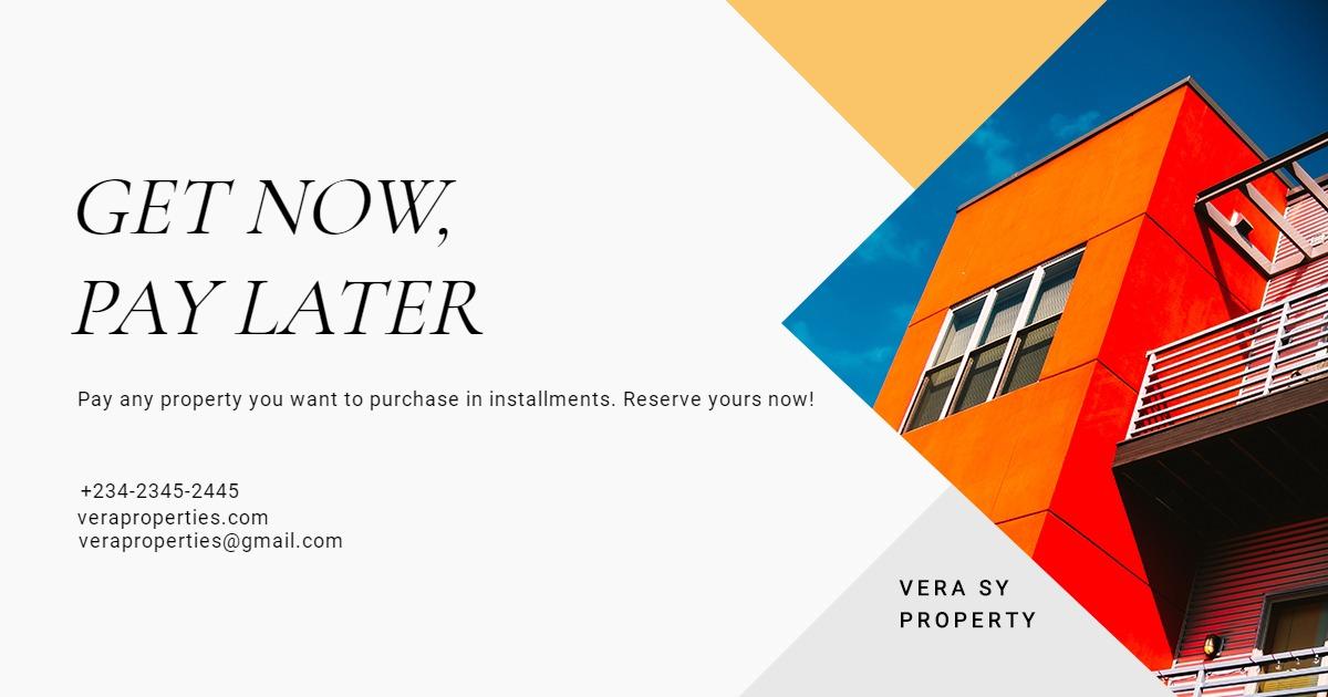 Indepedent Real Estate Broker Facebook Post Template