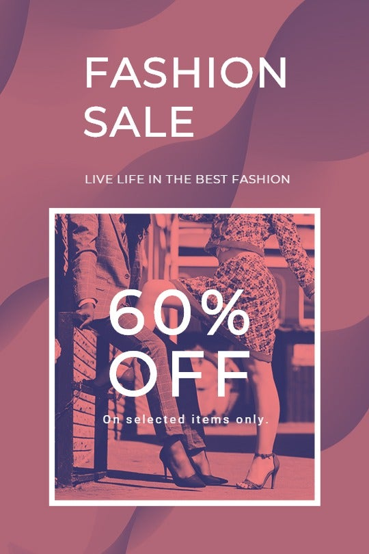 Fashion Sale Offers Tumblr Post Template