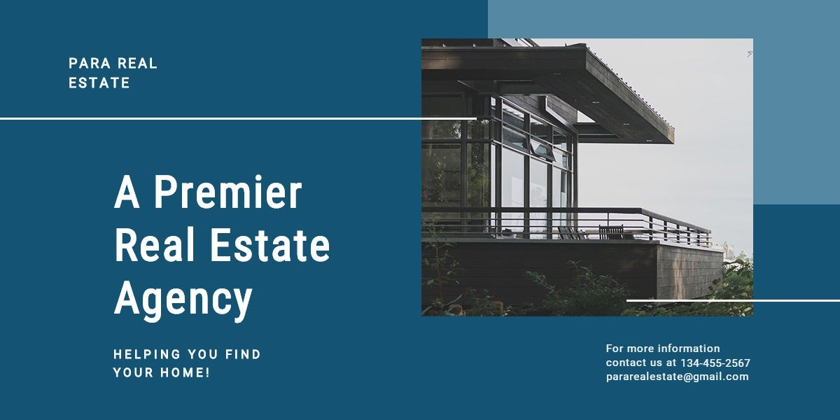 Real Estate Agency Blog Post Template