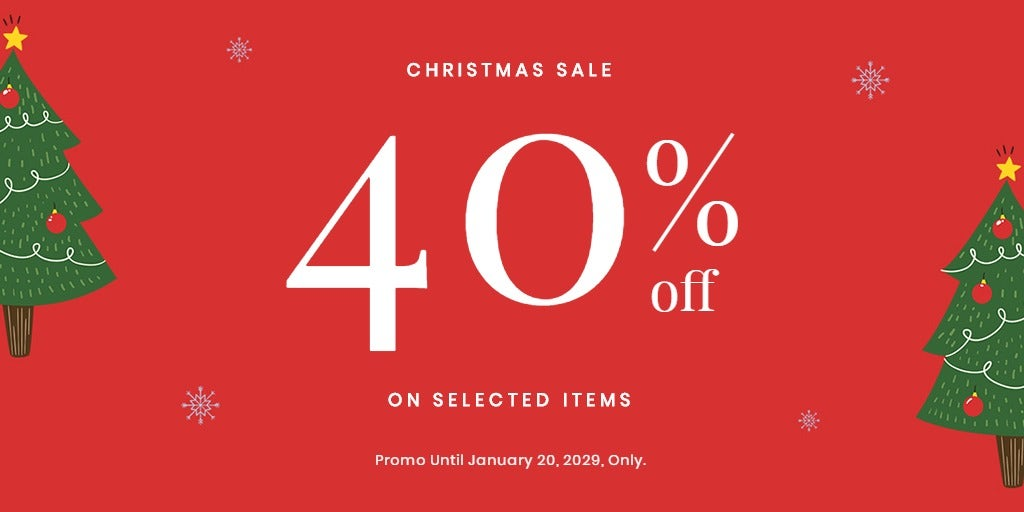 Christmas Holiday Sale Twitter Post Template