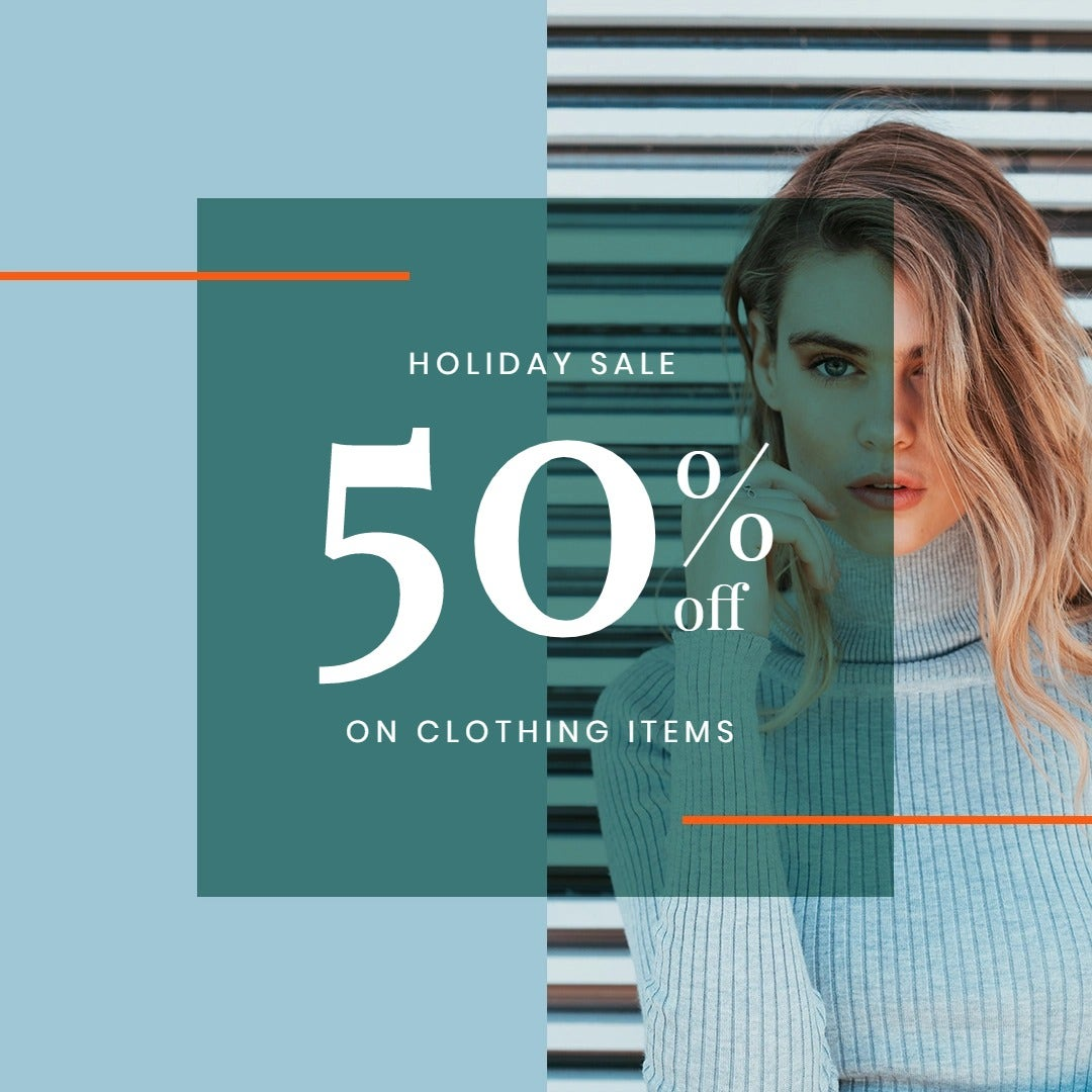 Holiday Collection Sale Instagram Post Template