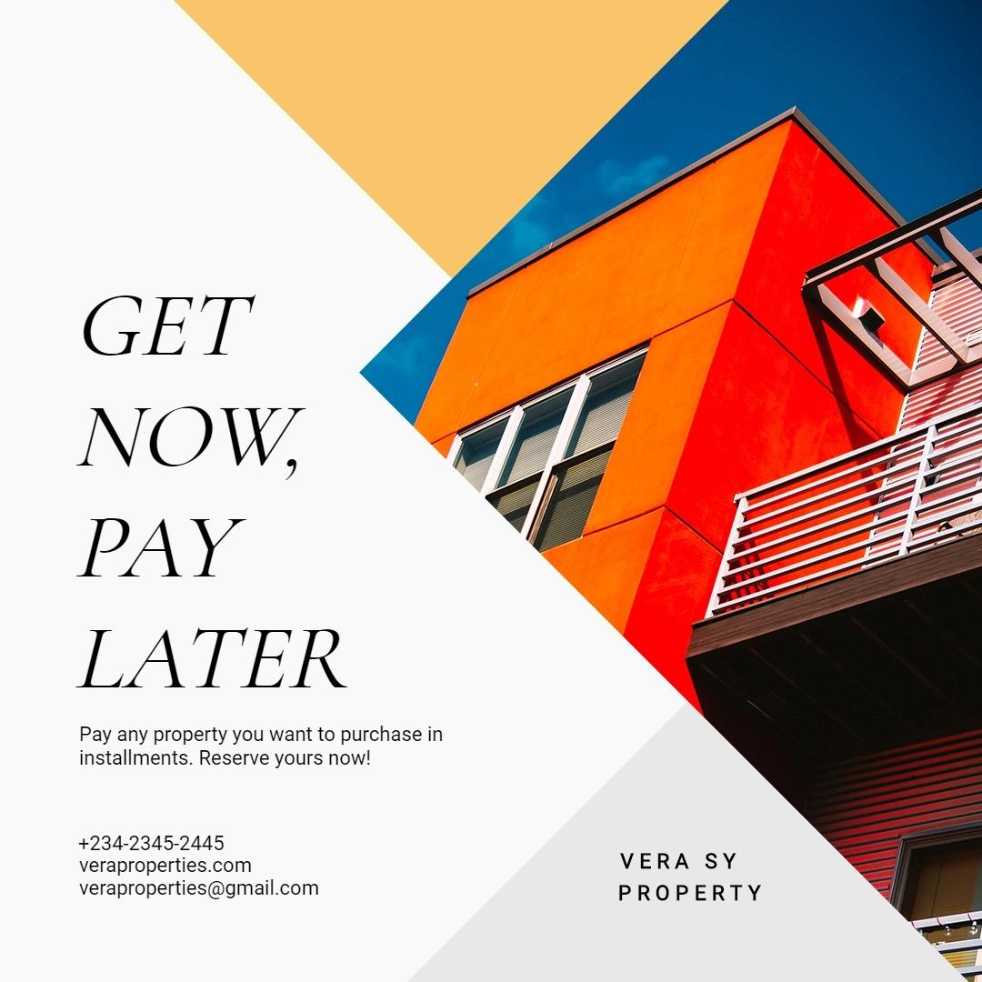 Indepedent Real Estate Broker Instagram Post Template