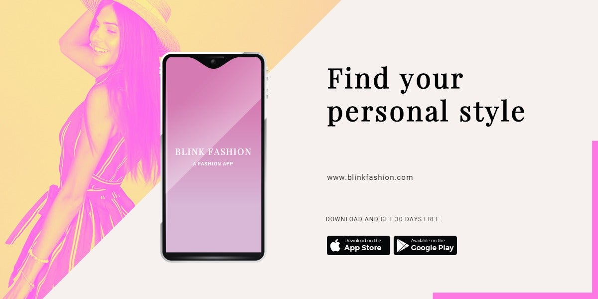 Fashion Store App Promotion Blog Post Template