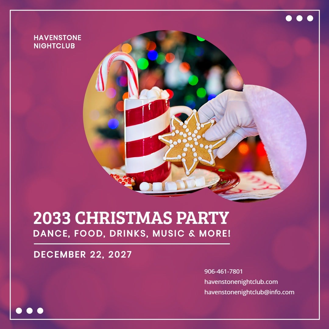 Christmas Club Party Instagram Post Template