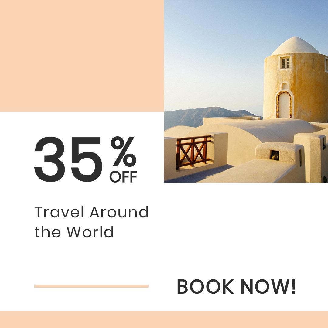 Travel Brands Instagram Post Template