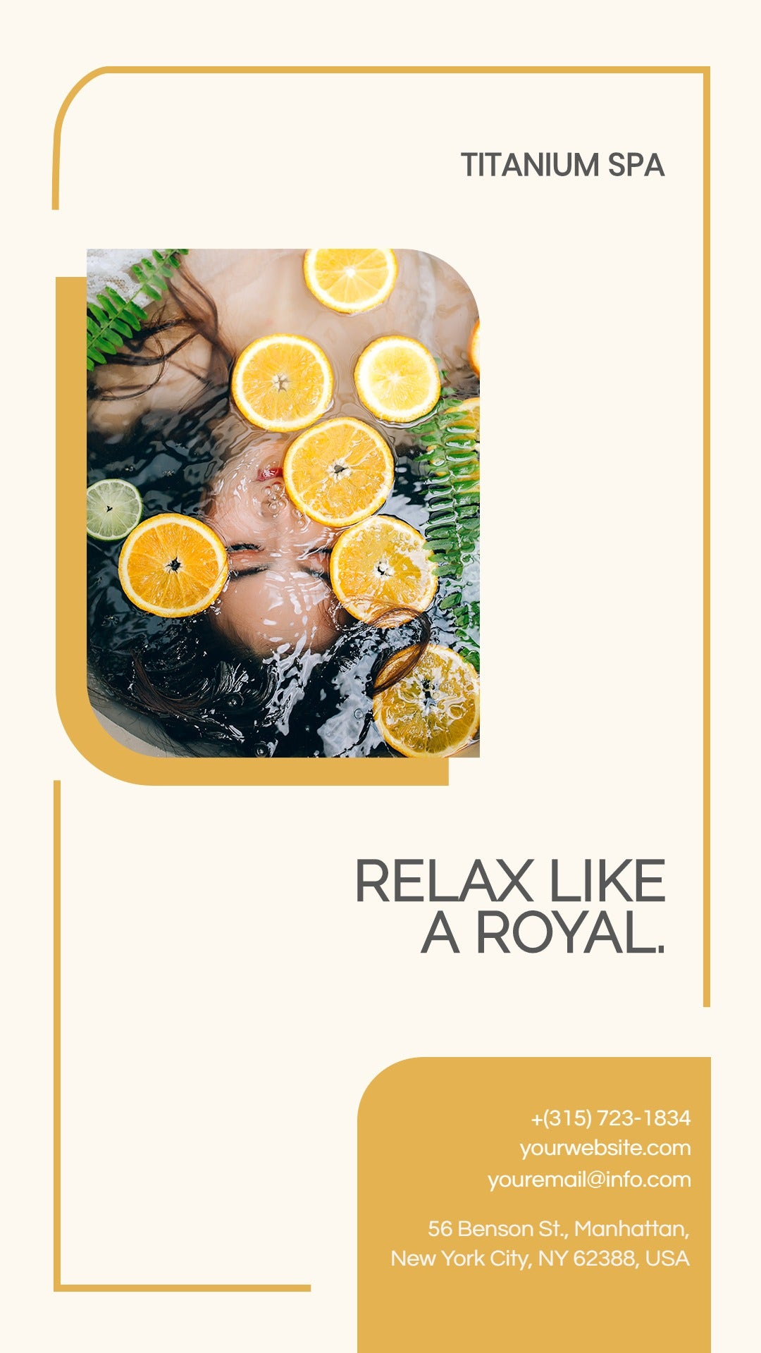 Luxury Spa Instagram Story Template