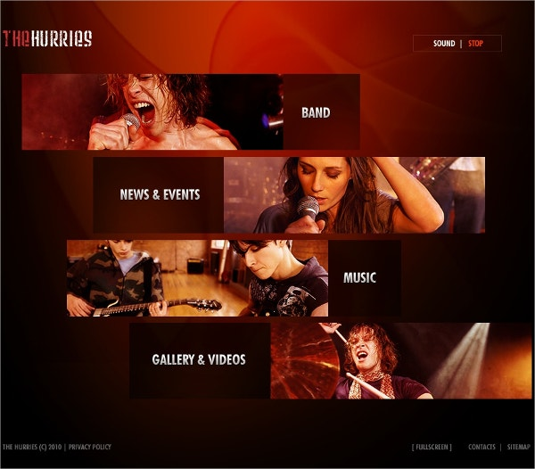 Music Band Swish Template $36