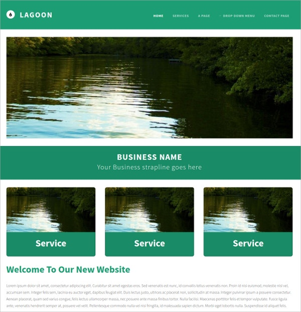 Free Business Css3 Theme