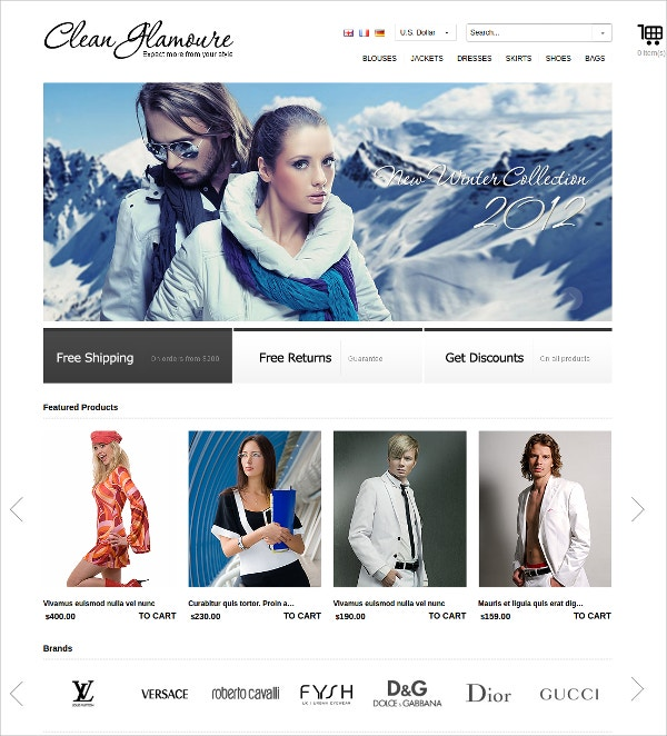Best OSCommerce Theme $39