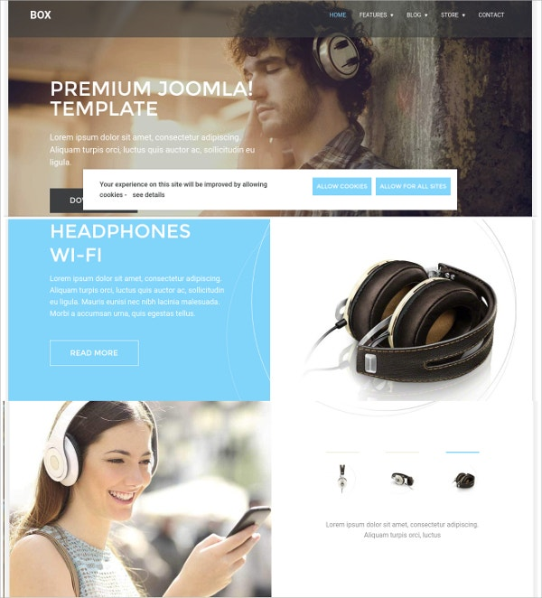 Bike Online eCommerce VirtueMart Template
