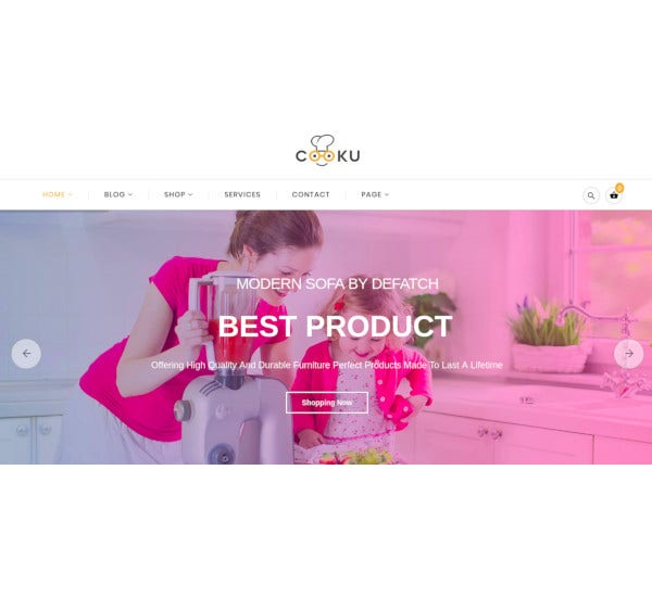 clean simple virtuemart joomla template