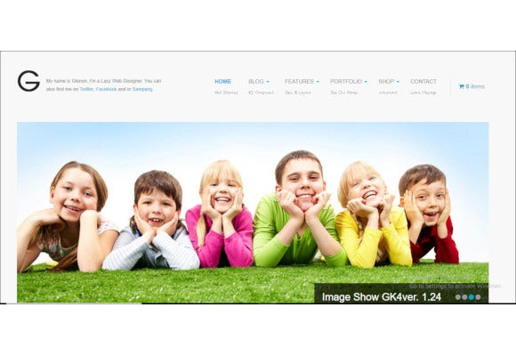 kids fashion virtuemart joomla template