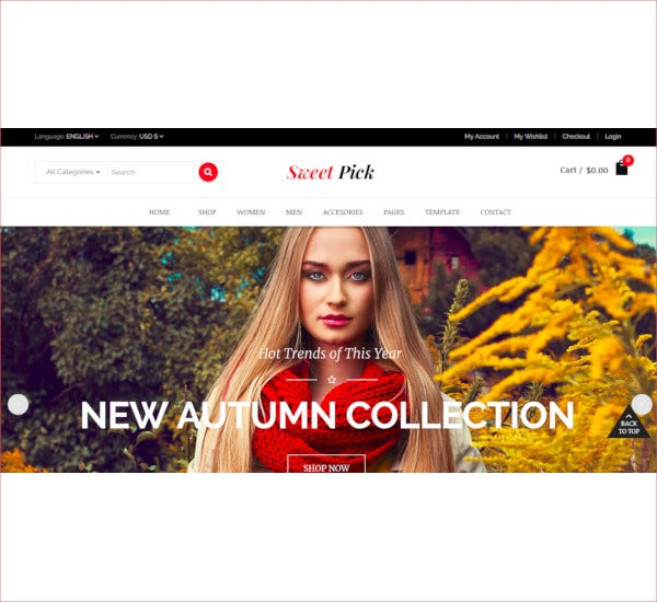 modern ecommerce virtuemart joomla template