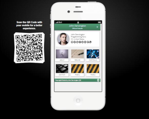 portfolio web app