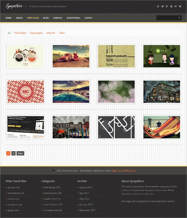 Multipurpose Business Ajax PHP Template $17