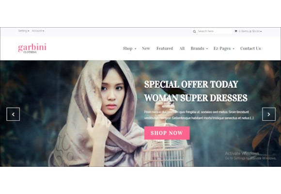 stylish zencart responsive theme