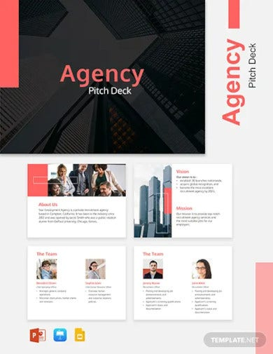 agency pitch deck template
