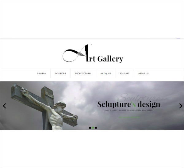 art gallery prestashop ecommerce theme