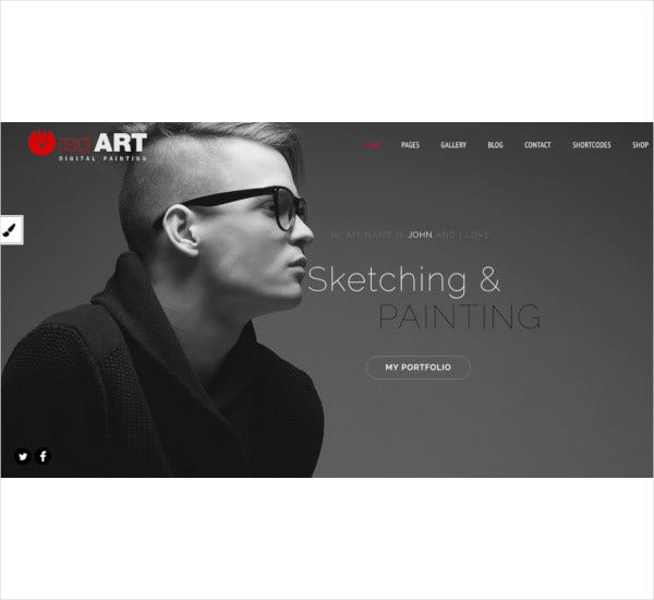 red art ecommerce photography