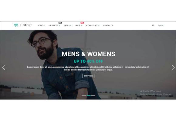 store multipurpose responsive ecommerce html5 template